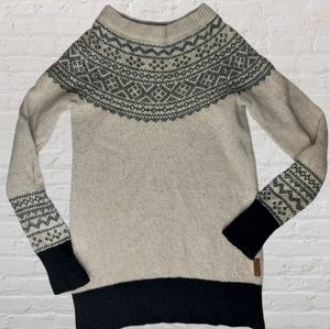 Roots Wool Blend Crew Sweater Size XSmall